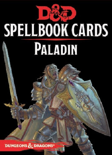 D&D SPELLBOOK: PALADIN 2ND EDITION | Boutique FDB