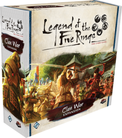Legend of the Five Rings : Clan War | Boutique FDB