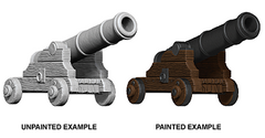 Pathfinder Deep Cuts Unpainted Miniatures: Cannons