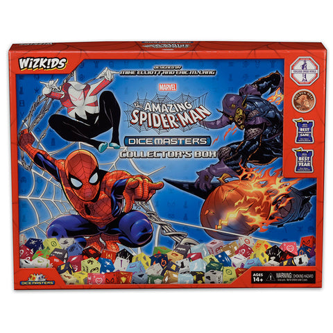 Marvel Dice Masters: The Amazing Spider-Man Collector's Box