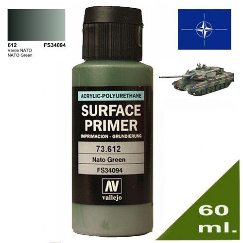 Surface Primer - Acrylic Polyurethane (60ml) - Vallejo | Boutique FDB