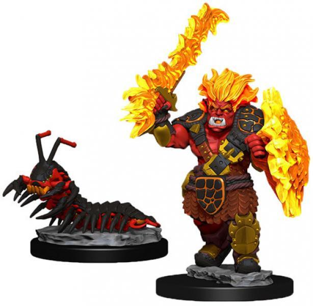 Fire Orc and Fire Centipede | Boutique FDB