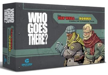 Certifiable Studios : Who Goes There? Van Wall and Norris Expansion