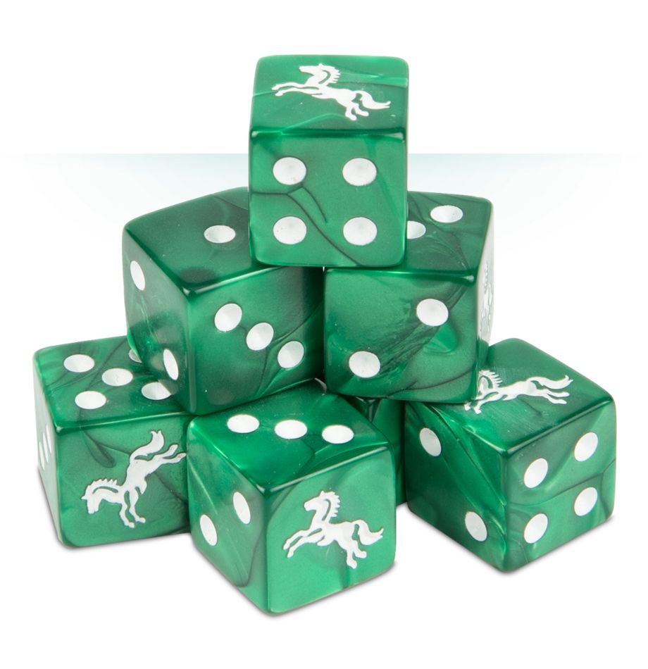 The Lord of the Rings: Rohan Dice Set | Boutique FDB