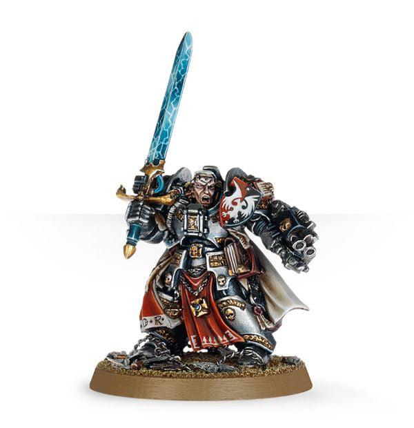 Warhammer 40k: Grey Knights Brother Captain Stern | Boutique FDB