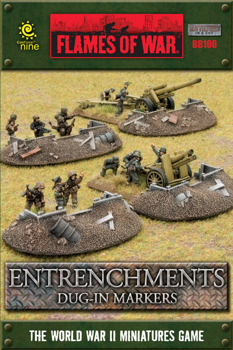 Battlefield in a Box Entrenchments - Dug in Markers | Boutique FDB