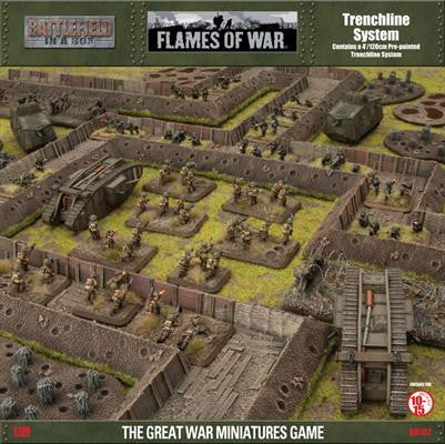Battlefield in a Box:Trenchline System