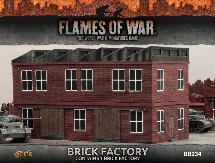 Battlefield in a Box Brick Factory | Boutique FDB
