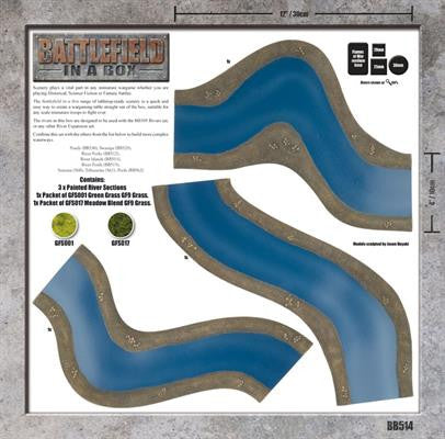 Battlefield in a Box: River Expansion: Bends | Boutique FDB