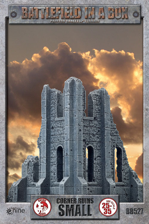 Small corner Gothic Ruins Battlefields | Boutique FDB