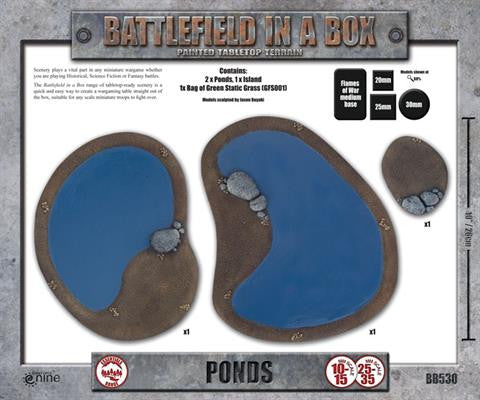 Battlefield in a Box: Ponds | Boutique FDB