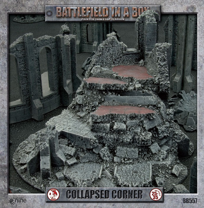 Battlefield in a Box Gothic: Collapsed Corner | Boutique FDB
