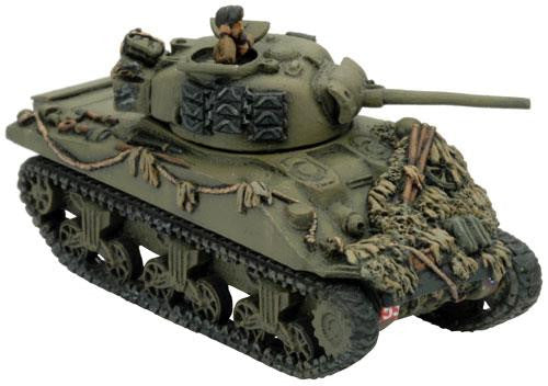 Flames of War Sherman Armoured Platoon (Plastic) | Boutique FDB