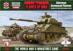 Flames of War Sherman Armoured Platoon | Boutique FDB