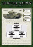 Churchill Platoon, With Churchill IV, V, VI & AVRE options