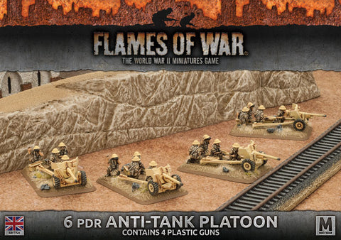 Flames of War 6pdr Anti-tank platoon