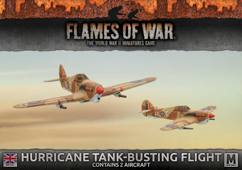 Flames of War Hurricane Tank-Busting Flight
