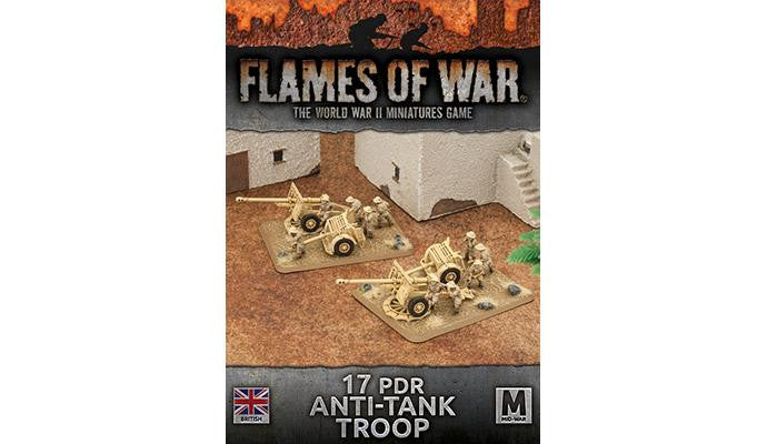 Flames of War 17 pdr Anti-tank Troop (Plastic) | Boutique FDB