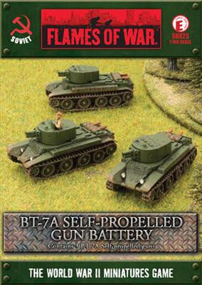 BT-7A Self-propelled Gun Platoon
