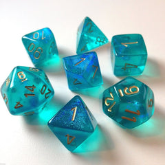 Borealis: 7Pc Teal / Gold