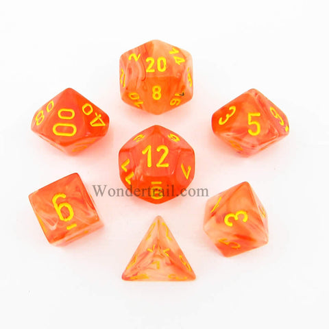 Chessex 7 dice set chx27523