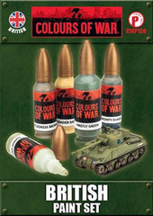 Flames of War British Paint Set