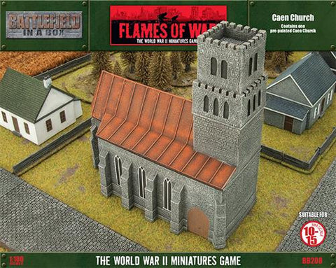 Flames of War Caen Church