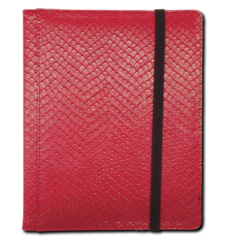 Dragon Vault Binder Red