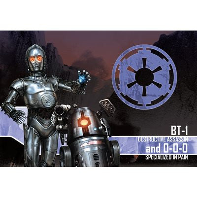 Imperial Assault: Assault BT-1 and 0-0-0 Villain Pack