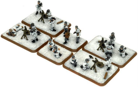 Mortar Platoon (Winter), with two sections