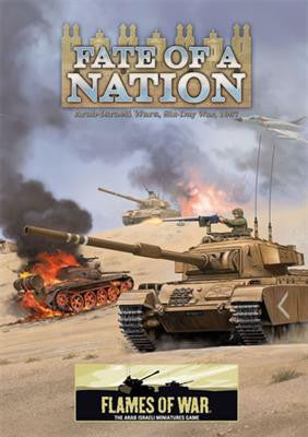 Flames of War Fate Of A Nation, 1967 Arab-Israeli Six Day War