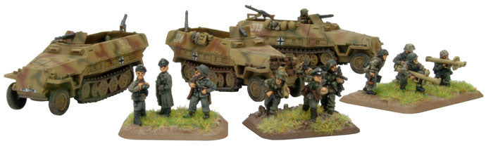 Flames of War Panzergrenadier Company HQ | Boutique FDB