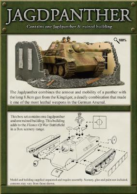 Jagdpanther, Jagpanther & Ruined Building | Boutique FDB
