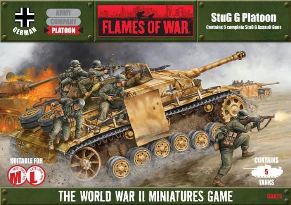 Flames of War StuG Platoon | Boutique FDB
