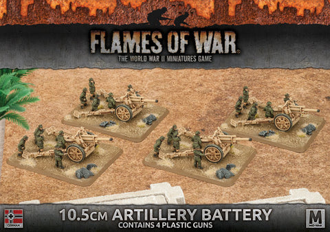 Flames of War 10.5cm Artillery Battery