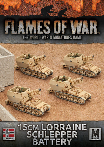 Flames of War 15cm Lorraine Schlepper Battery