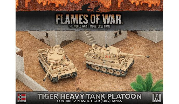Flames of War Tiger Heavy Tank Platoon (Plastic) | Boutique FDB