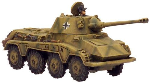 Sd Kfz 234/2 Puma or Sd Kfz 234/1, With 234/1 option (2 Turrets) | Boutique FDB