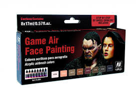 Game Air Set: Face Painting (by Angel Giraldez) (8) | Boutique FDB