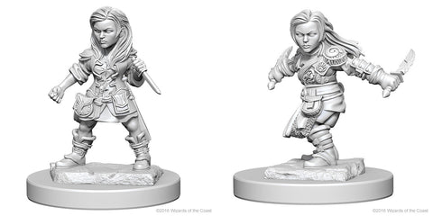 D&D Nolzur's Marvelous Unpainted Miniatures: Halfling Female Rogue
