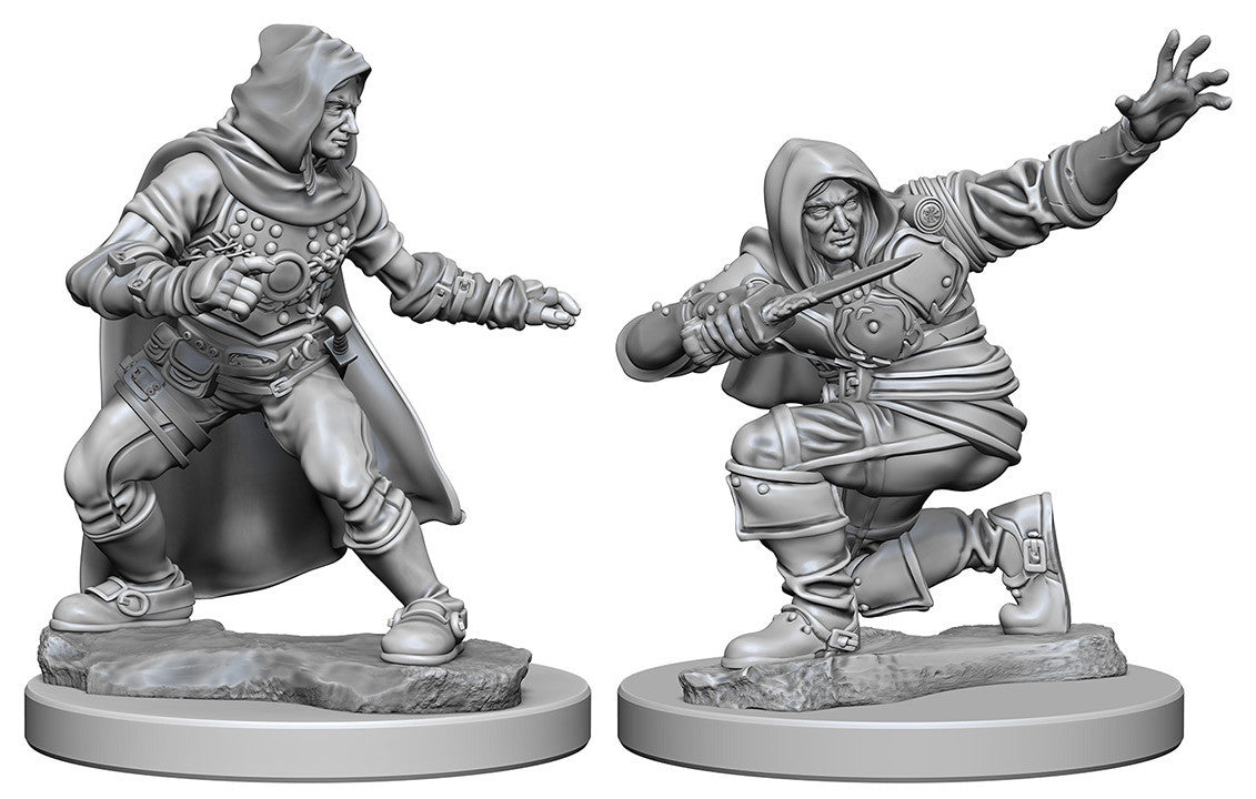 Pathfinder Deep Cuts Unpainted Miniatures: Human Male Rogue | Boutique FDB