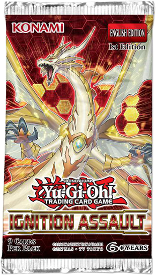 Yugioh Ignition Assault Booster pack | Boutique FDB
