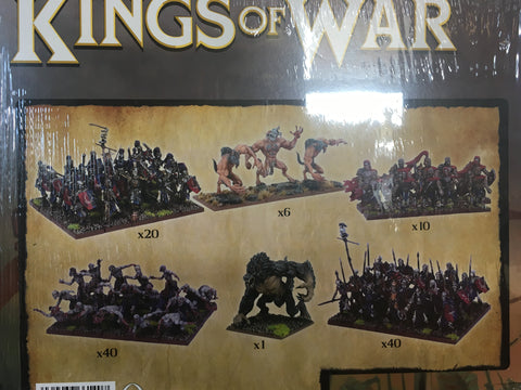 King of War Mega Undead army