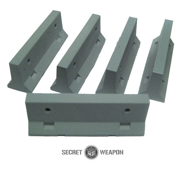 Secret Weapon Masterclass Terrain Jersey Barriers | Boutique FDB