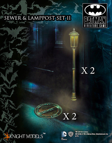 SEWER AND LAMPPOST SET II | Boutique FDB