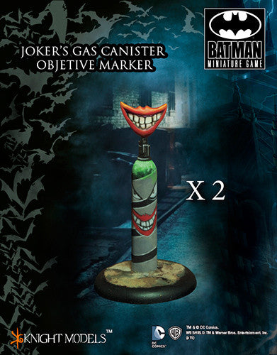 JOKER'S GAS CANISTER OBJETIVE MARKER | Boutique FDB