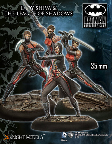 LADY SHIVA AND THE LEAGUE OF SHADOWS