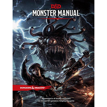 Dungeons & Dragons (5th Ed.): Monster Manual | Boutique FDB