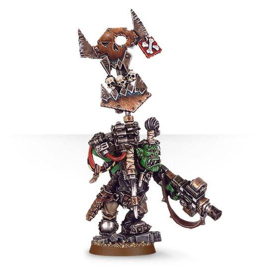 ORKS NOB WITH WAAAGH! BANNER | Boutique FDB