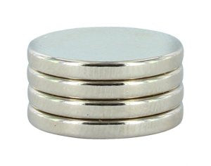 "1/2"" x 1/16"" Magnets (4)"